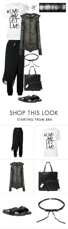 """""""LAZY"""" by statuslusso ❤ liked on Polyvore featuring DAMIR DOMA, Neil Barrett, Vivienne Westwood Anglomania, Valentino, Chan Luu and WWAKE"""