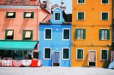 Colorful Burano, Italy