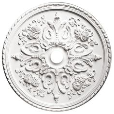 Focal Point 81033 33-Inch Versailles Medallion 32 1/2-Inch by 32 1/2-Inch by 2 1/2-Inch, Primed White *** Special  product just for you. See it now! (This is an amazon affiliate link. I may earn commission from it)