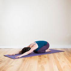 Yoga Poses That Banish Stress: Child's Pose