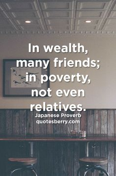 Risultati immagini per poverty is not a lack of character