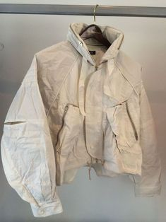 cropped parachute bomber jacket • raf simons£0.99