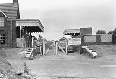 dersingham railway station - Google Search Disused Stations, Steam Engine, Plans, Norfolk, Old Photos, Buildings, Train, Google Search, Vintage