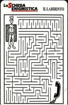 La più rara tra le schede #Telecom è senza dubbio la #Labirinto!