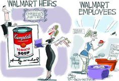 Because to hell with Walmart, that's why.
