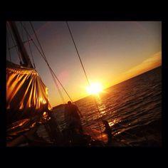 Sailing, Whitsunday islands, Australia :)