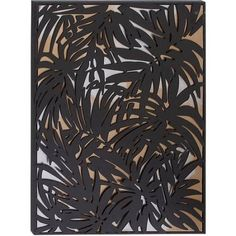 Decmode Metal and Wood Wall Decor, Multi Color, Multicolor