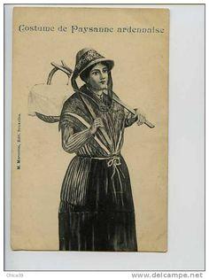 006245 - Costume de Paysanne Ardennaise