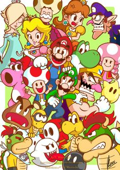 Mario's World by ~MKDrawings