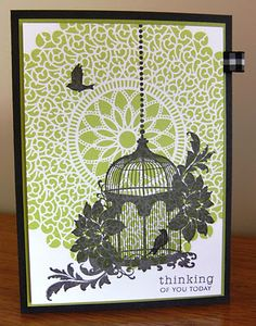 Love this card. It uses two Close To My Heart stamp sets.