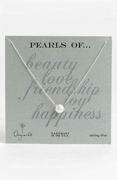 Simple & Elegant - Pearl Necklace