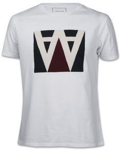 Wood Wood AA Box Herren T-Shirt weiß