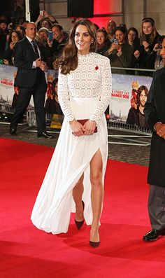 Kate Middleton makes glamorous appearance in Self Portrait dress at A Street Cat Named Bob premiere