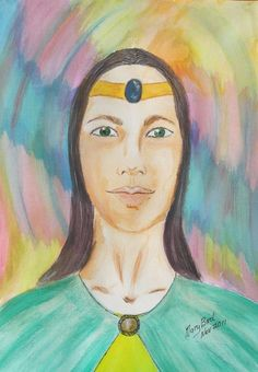 Spirit Guide Art by Mary Bird - Enlightened Being