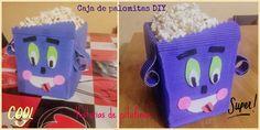 Caja de palomitas #diy: crea tu propio recipiente para las tardes de cine en #familia #manualidadesdivertidas http://blgs.co/9lk206