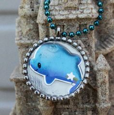 Charity Item Dolphin Pendant  Benefits Ric O'Barry's The Dolphin Project by GreyGyrl, $10.00