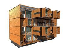 Conteiner building