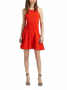 great color! Deliah Flare Dress