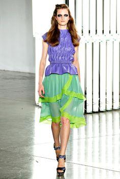 Rodarte Spring 2012 Ready-to-Wear Fashion Show - Magdalena Langrova