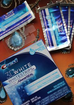 Crest 1 Hour Express Whitening Strips | Review