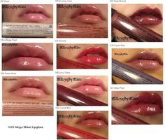 Review & Swatches: NYX MEGA SHINE LIPGLOSS | LUUUX
