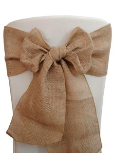 Styles For Your Celebration's Chair Sashes   Seshalyn's Party Ideas
