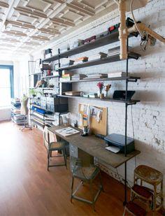 Loft workspace- Home Sweet Home
