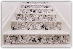 Ispirato Design: Fun Friday Find: Painted Stairs