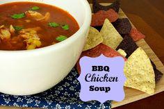 BBQ Chicken Soup 2 BBQ Chicken Soup