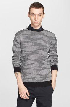 Men's Saturdays NYC 'Everyday - Safari' Jacquard Sweater