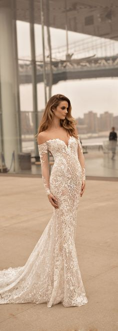 BERTA 2018 bridal collection. Style 18-20.