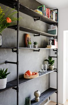Create your very own walk-in closet with our customizable wardrobe solutions! Combine it with shelves! Wardrobe Solutions, Wardrobe Design, Industrial Style, Nest, Bookcase, Shelves, Living Room, Future, Stylish