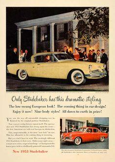 1953 Studebaker Commander Starliner Hardtop