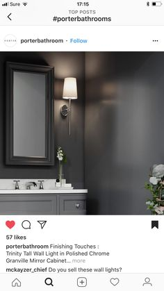 Color Paints, Art Deco Bedroom, Room Ideas, Decor Ideas, Bathroom Black, Modern Victorian, Mirror Cabinets, Dream Rooms, Wabi Sabi