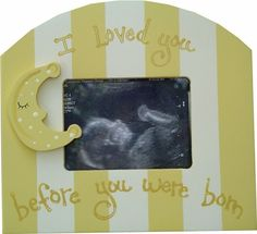 Sonogram Picture Frames at Jack and Jill Boutique