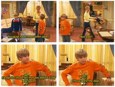 The Suite Life of Zach & Cody...LOL!