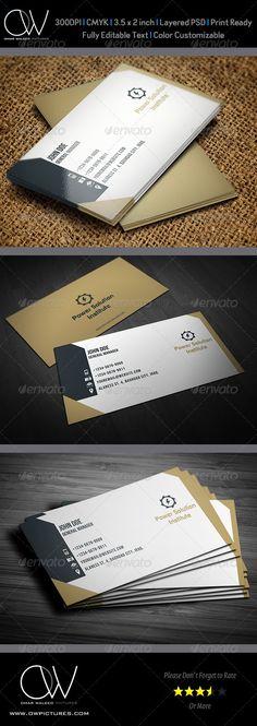 Corporate Business Card Vol.14