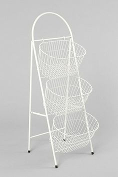 Ladder Storage Basket, on sale now at UO for $50. Possible entryway storage? Also comes in silver