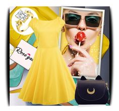 """Rosegal 3/2"" by amerlinakasumovic ❤ liked on Polyvore featuring vintage"