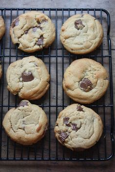 Peanut Butter Peanut Butter Cup Cookies - Blue-Eyed Bakers - Blue Eyed Bakers