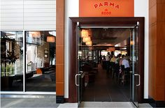 PARMA 8200 -- Bloomington, 5600 West 83rd St. Suite 100 -- Moderately priced Italian eatery evoking the city of Parma, in the Italian region of Emilia-Romagna famous for its architecture, countryside, dining, agriculture—whose artisan ingredients are a culinary staple used throughout Italy and features classic and traditional Italian dishes.