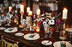 chic warehouse wedding in Brooklyn - photo by Pat Furey http://ruffledblog.com/chic-warehouse-wedding-in-brooklyn