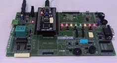 Blinking LEDs using ARM7 (LPC2148)