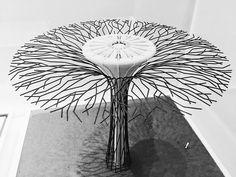 #Supertrees 2007. 3D prints by #grantassociates at the #victoriaandalbertmuseum #architecture collection #3dprinting #3dprint #3dprinter #design #blackandwhite