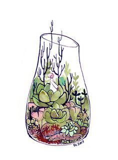 terrarium 2 by koyamori on deviantART <--- I love their art so much