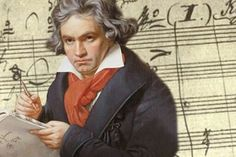 """""""I have never thought of writing for reputation and honor. What I have in my heart must come out; that is the reason why I compose."""" Ludwig van Beethoven"""