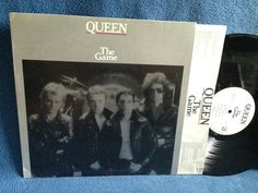 Vintage Queen  The Game Vinyl LP Record Album by sweetleafvinyl