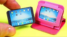 DIY Miniature Tablet / iPad + 2 Tablet Cases