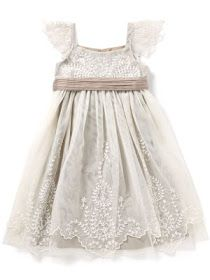 Knots and Kisses Wedding Stationery: Spotlight On Beautiful Vintage Inspired Flower Girl Dresses