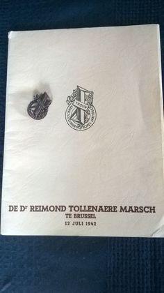 Online veilinghuis Catawiki: Documenten over de dood en begrafenis Reimond Tollenaere Vlaams legioen (waffen- SS)